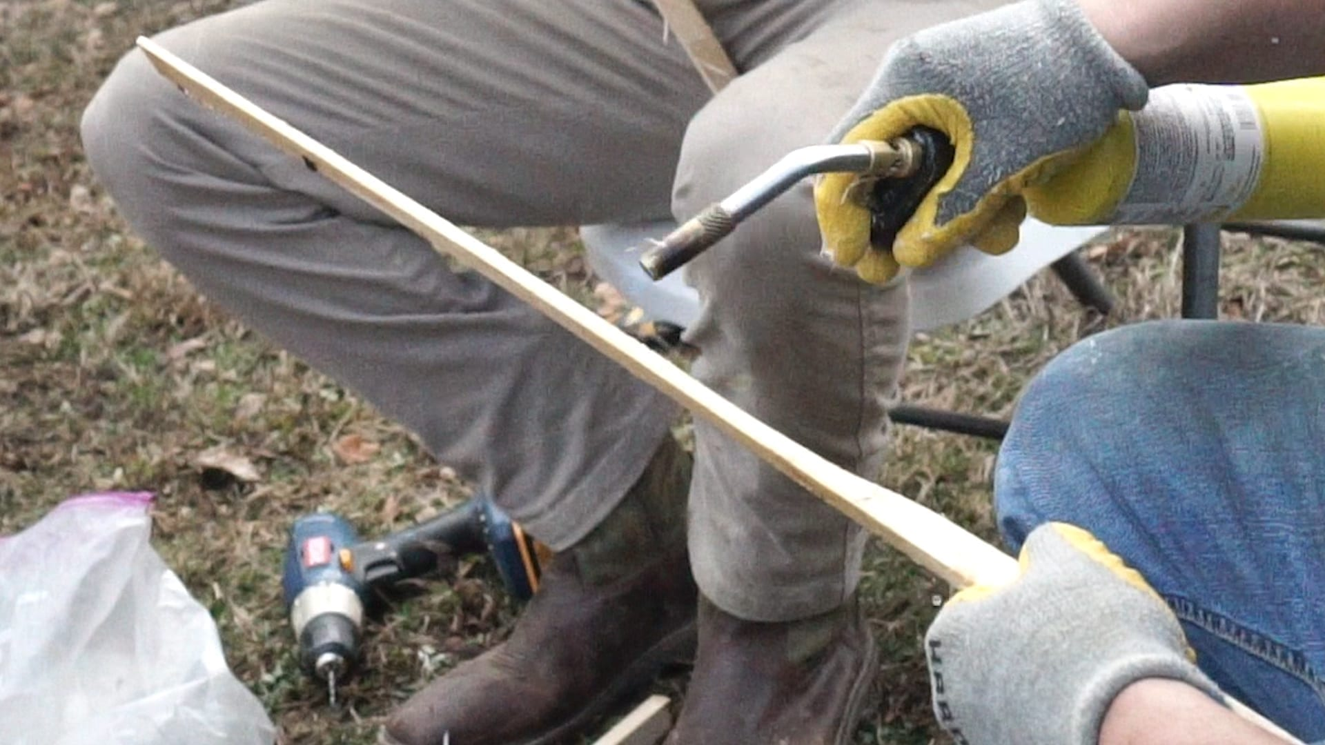 wood lacrosse sticks billy brenner stick maker series justin skaggs