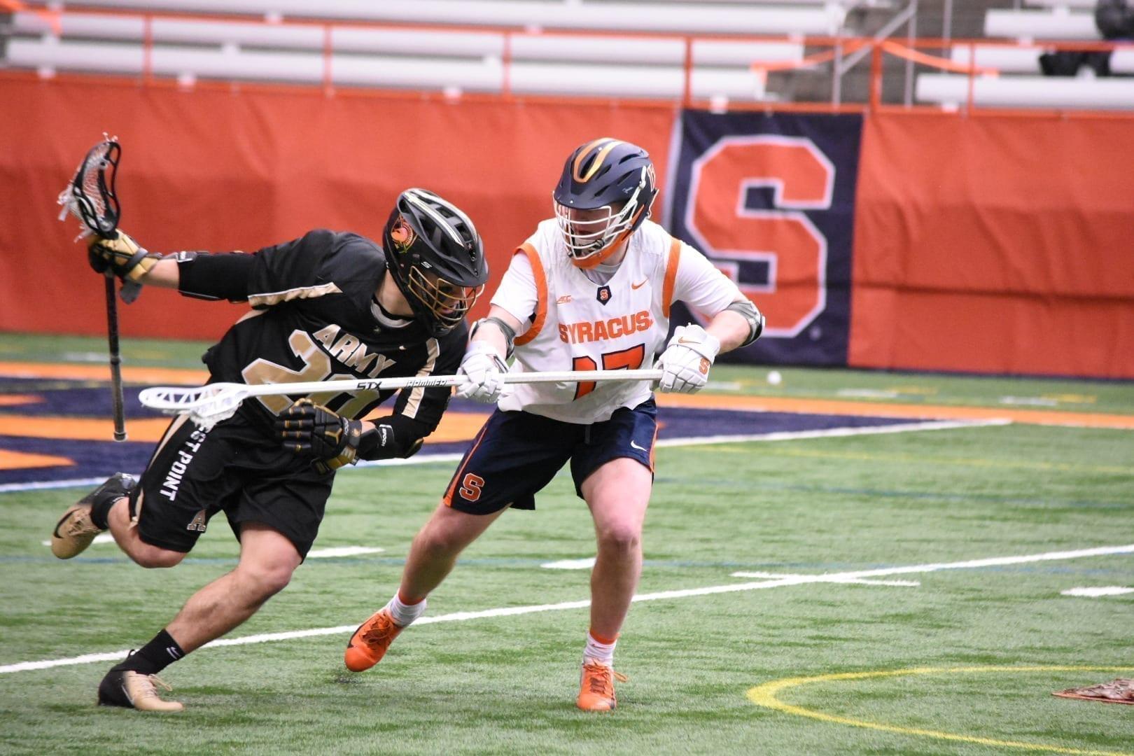 syracuse orange army black knights ncaa d1 college lacrosse 2020
