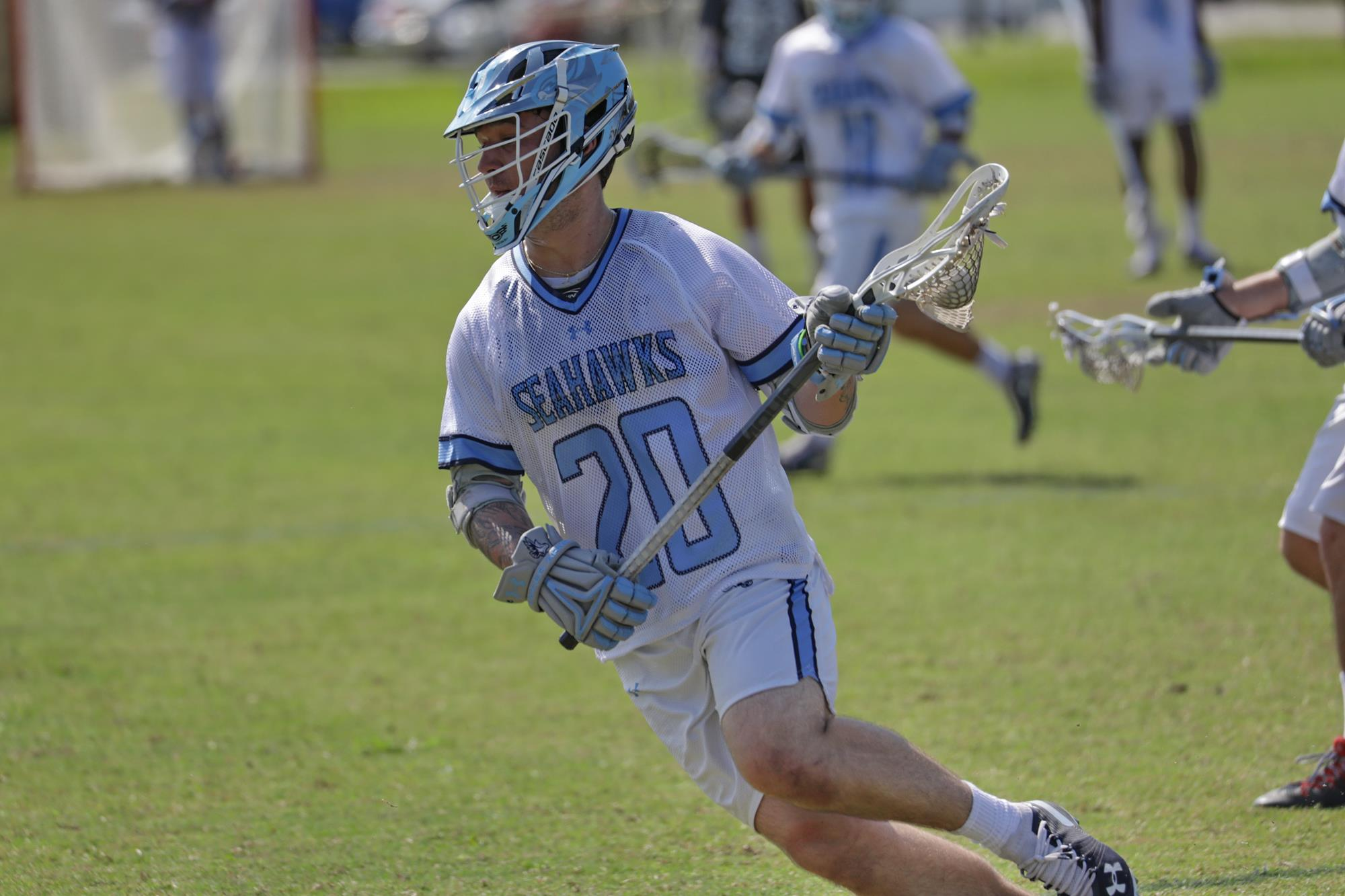 john senior naia college lacrosse keiser university