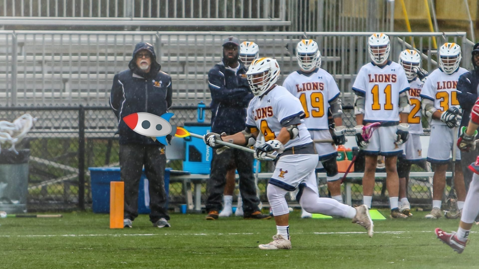 emmanuel college michael ballsy balsamides ncaa division 2 lacrosse college full-field assist