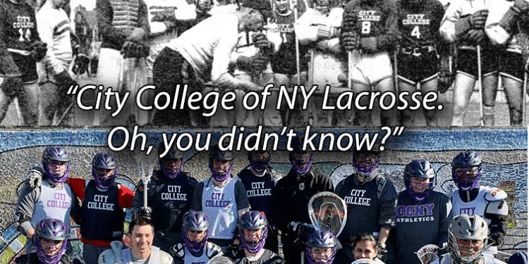 City College of NY Lacrosse