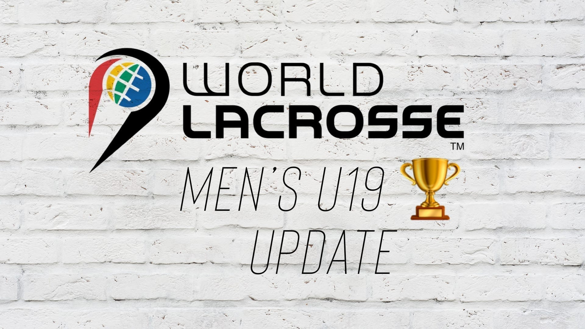 men's u19 world championship lacrosse