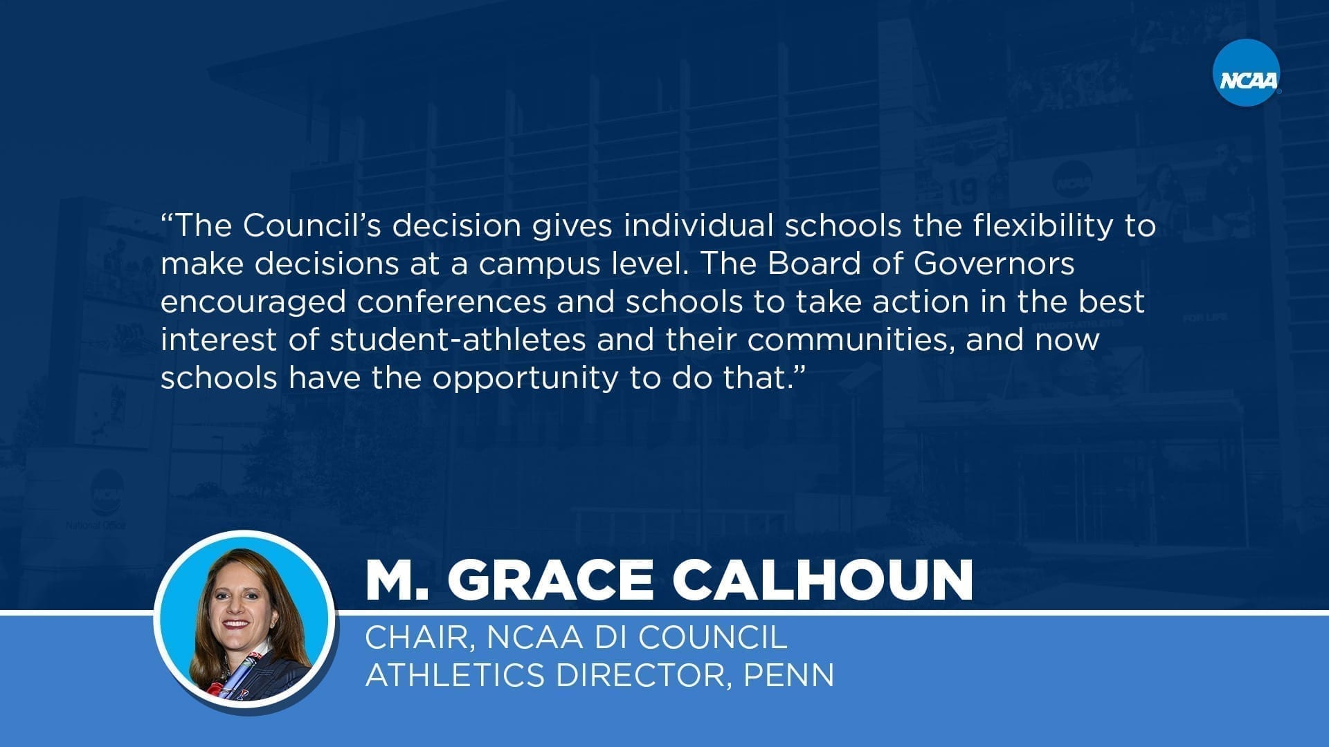 Division I Council extends eligibility