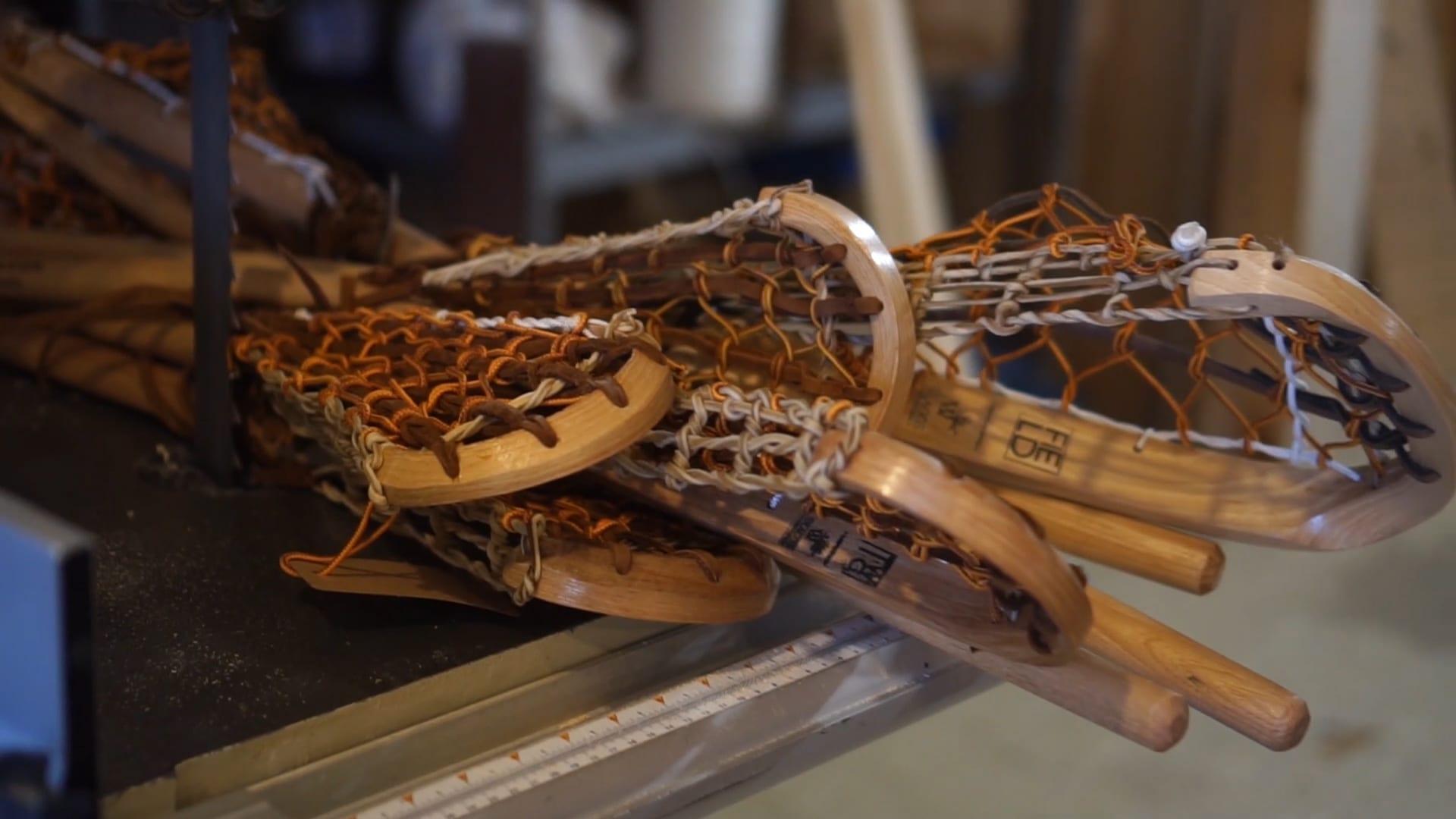 umbc lacrosse wood lacrosse sticks justin skaggs
