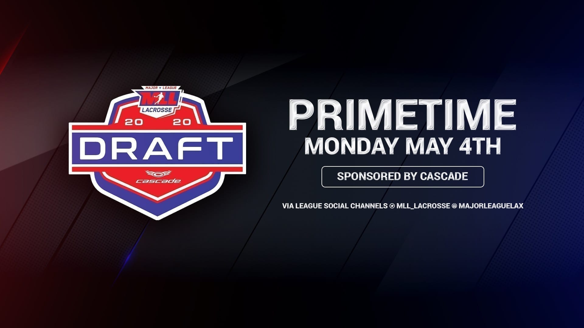 MLL 2020 Collegiate Draft Set for May 4th