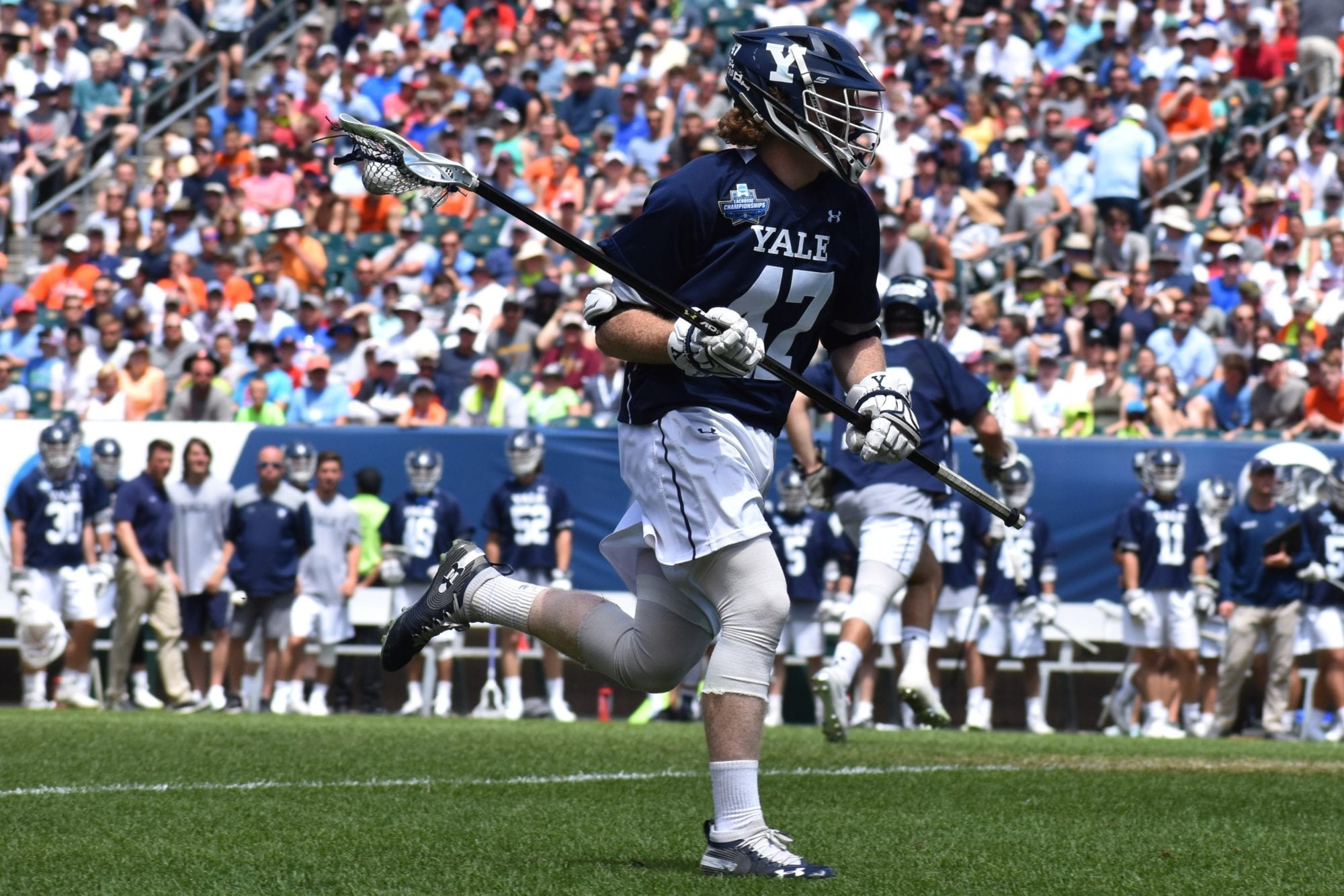 Hynes PLL Draft, MLL Draft: Making Sense of Two Leagues, One Class photo Ryan Conwell Yale 2019