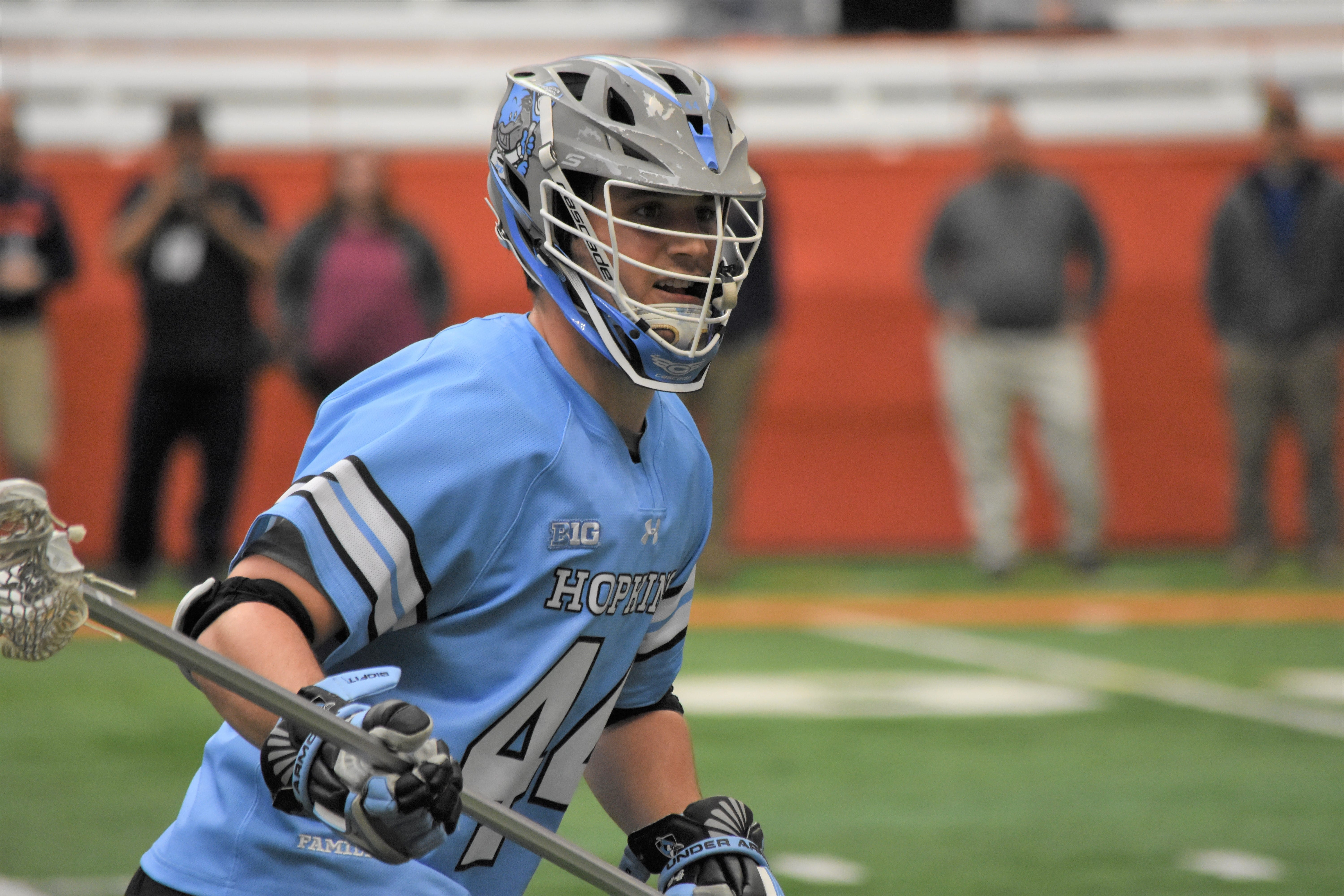 Jack Rapine PLL Draft, MLL Draft: Making Sense of Two Leagues, One Class photo Ryan Conwell Johns Hopkins 2019