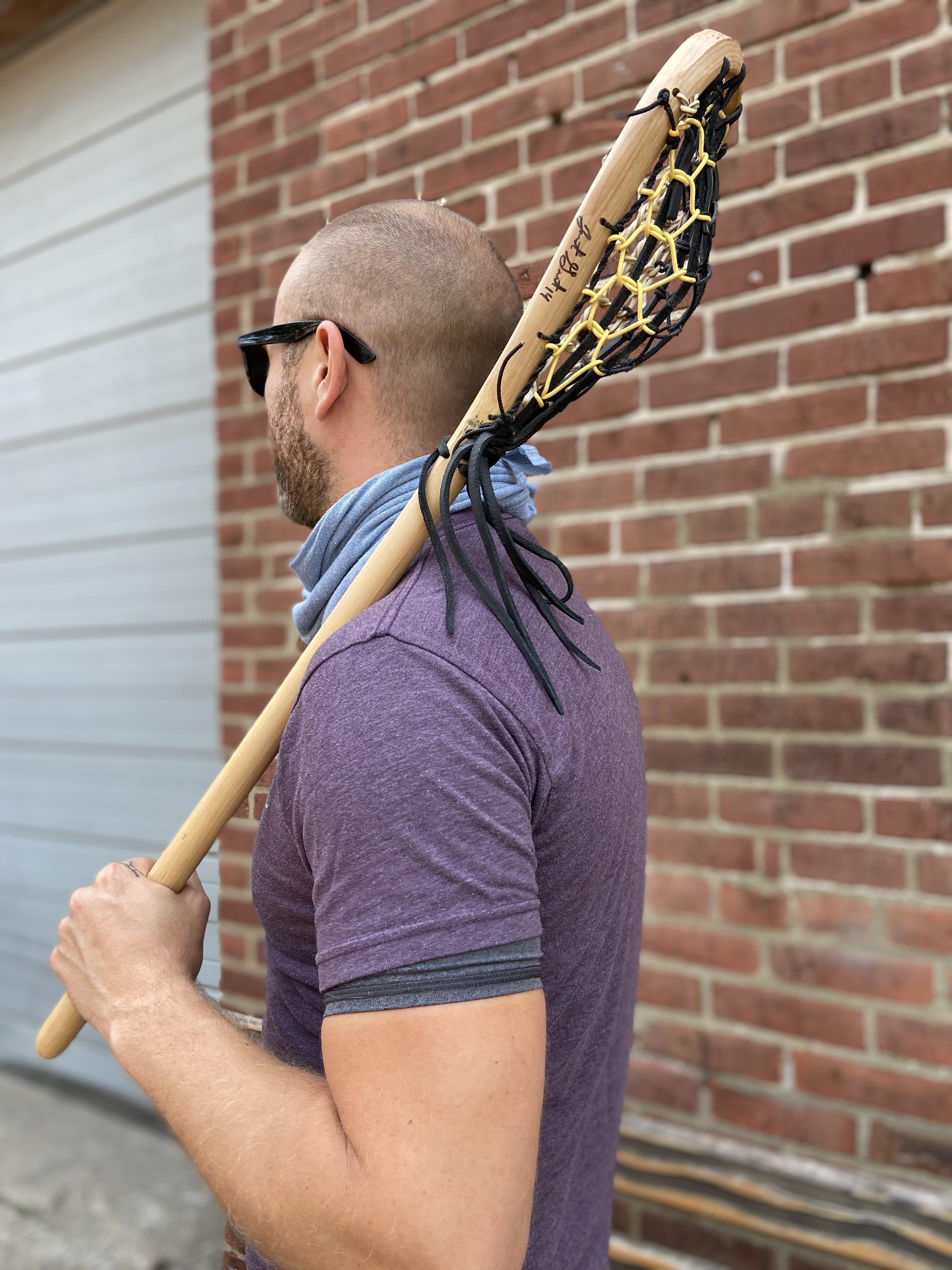 WIN a Justin Guterding HANDMADE Twig (1/1) Wood Lacrosse Sticks Exclusive