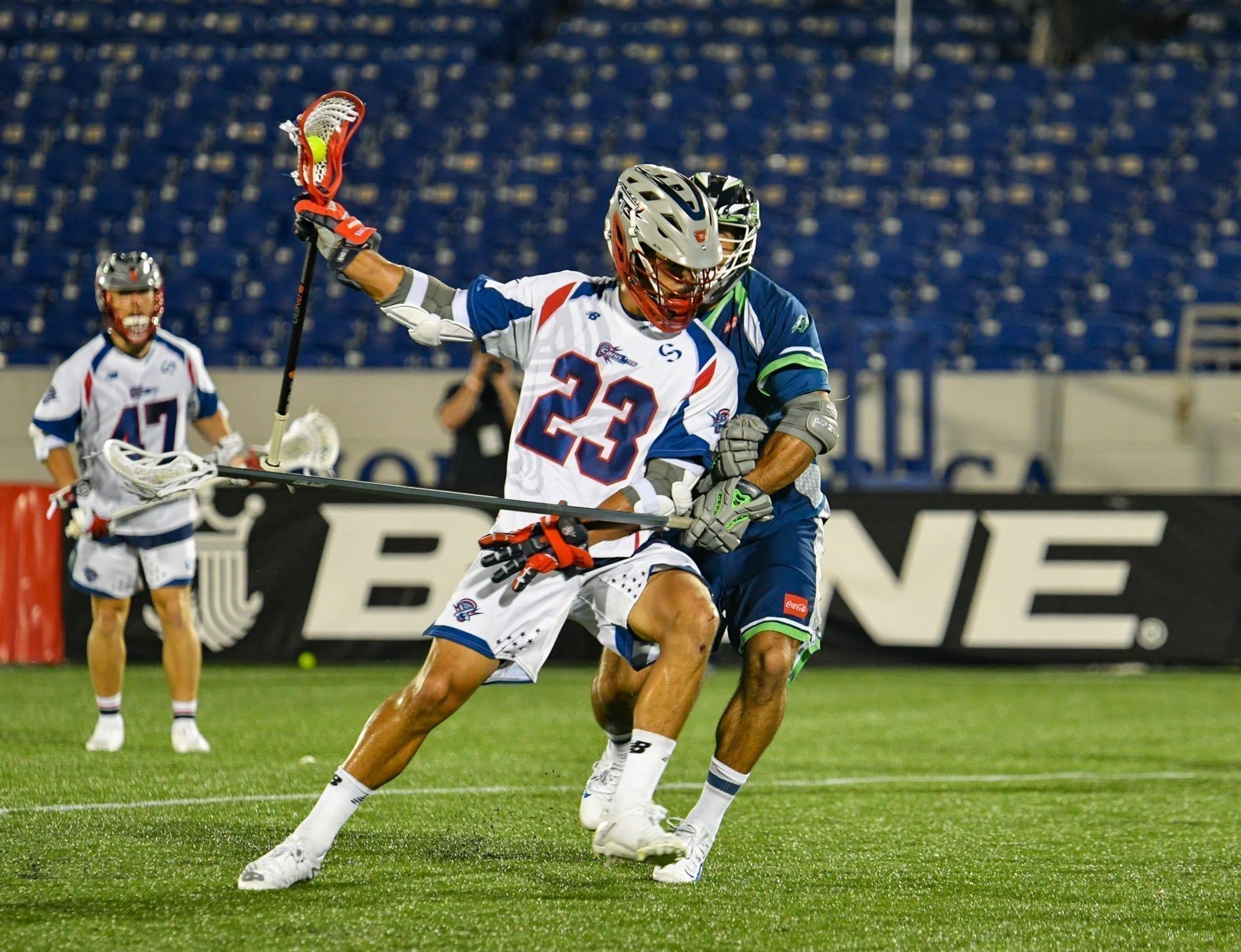 Cannons Bayhawks Major League Lacrosse MLL 2020 Pretty Instant-71