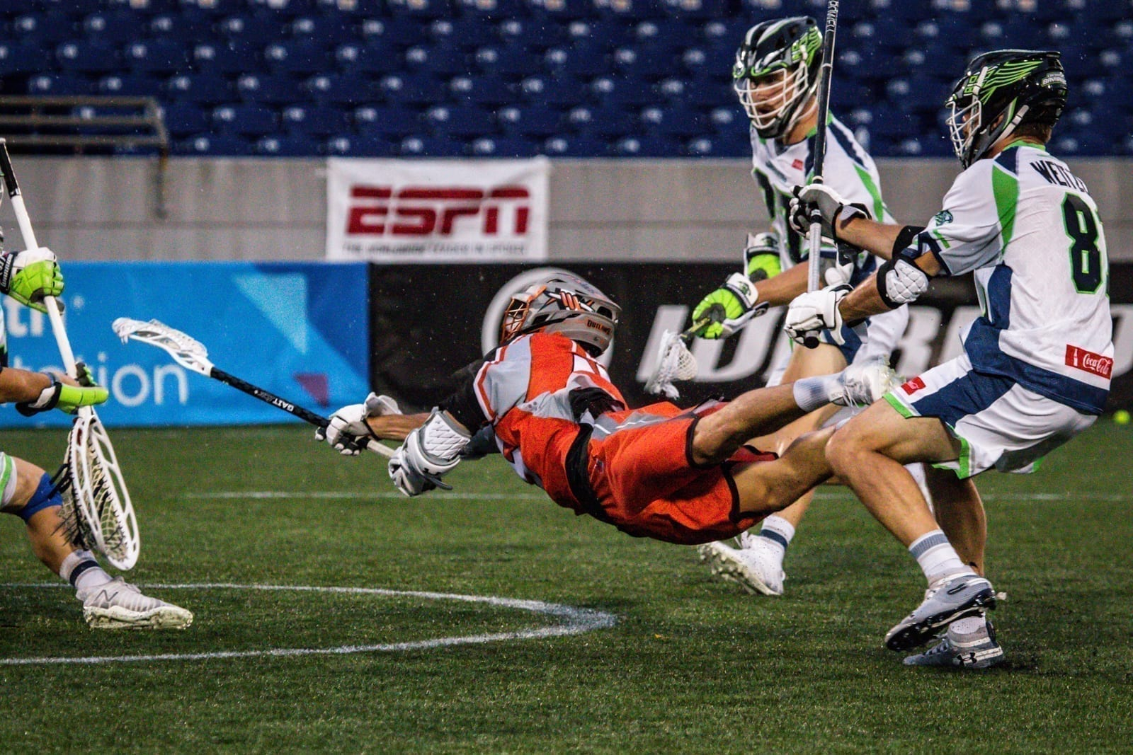Chesapeake Bayhawks Denver Outlaws 2020 Major League Lacrosse MLL Pretty Instant-29
