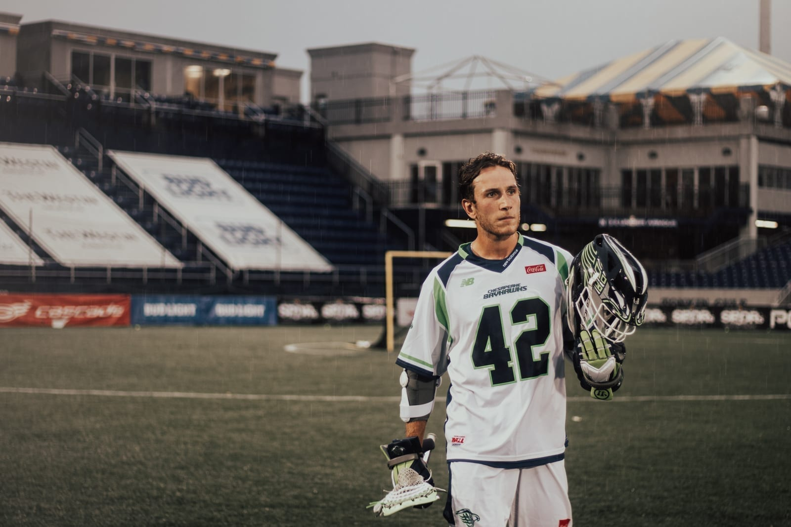 Chesapeake Bayhawks Denver Outlaws 2020 Major League Lacrosse MLL Pretty Instant-78 Andrew Kew