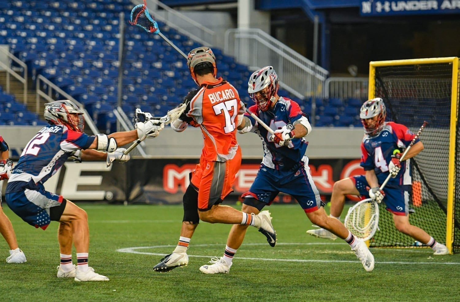 All-MLL MVP Bucaro MLL Major League Lacrosse