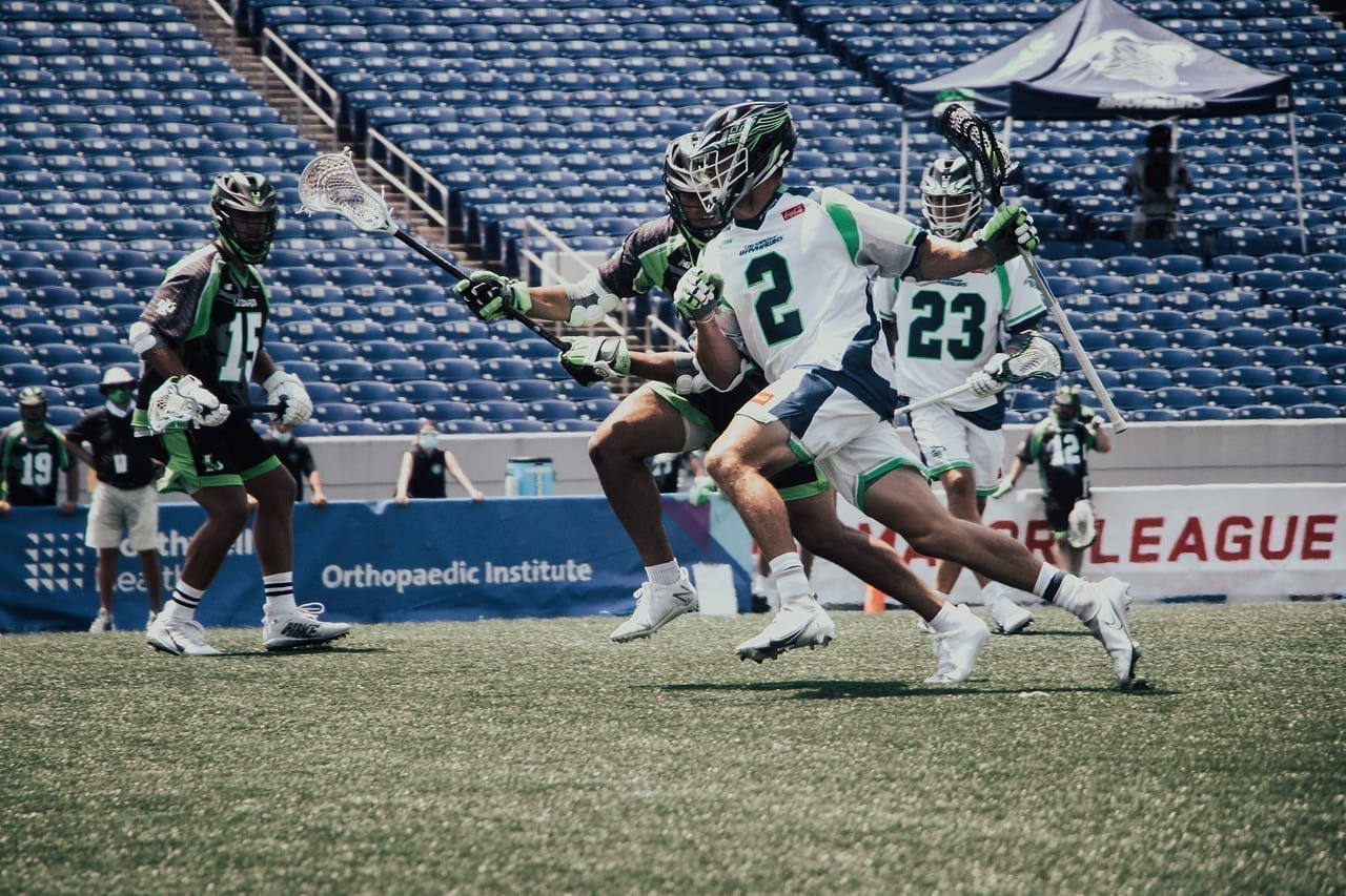 MLL Chesapeake bayhawks vs New York Lizards Major League Lacrosse 2020 photo: Pretty Instant / MLL