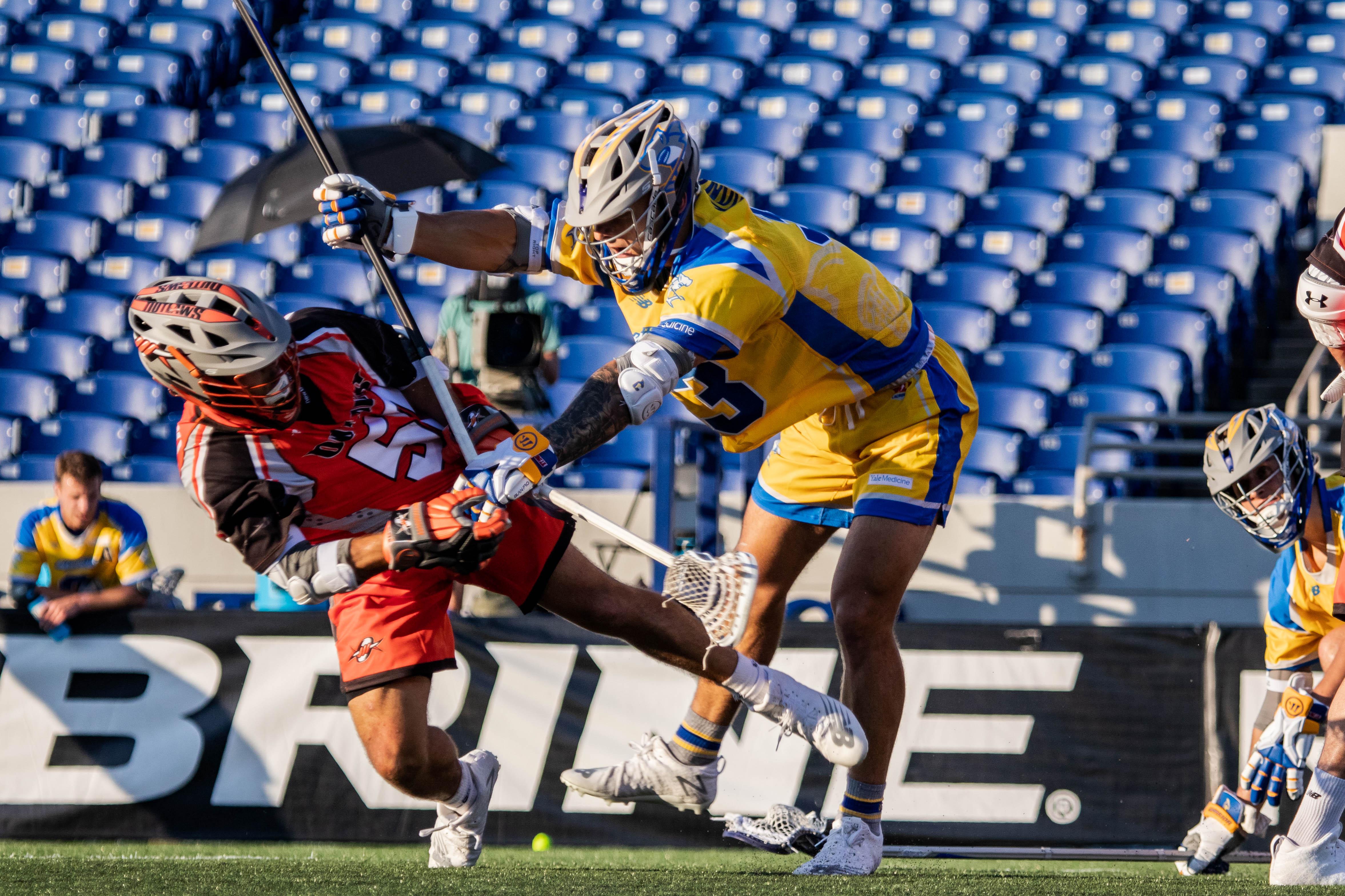 Major League Lacrosse 2020. Denver Outlaws Connecticut Hammerheads Photo: MLL / Pretty Instant