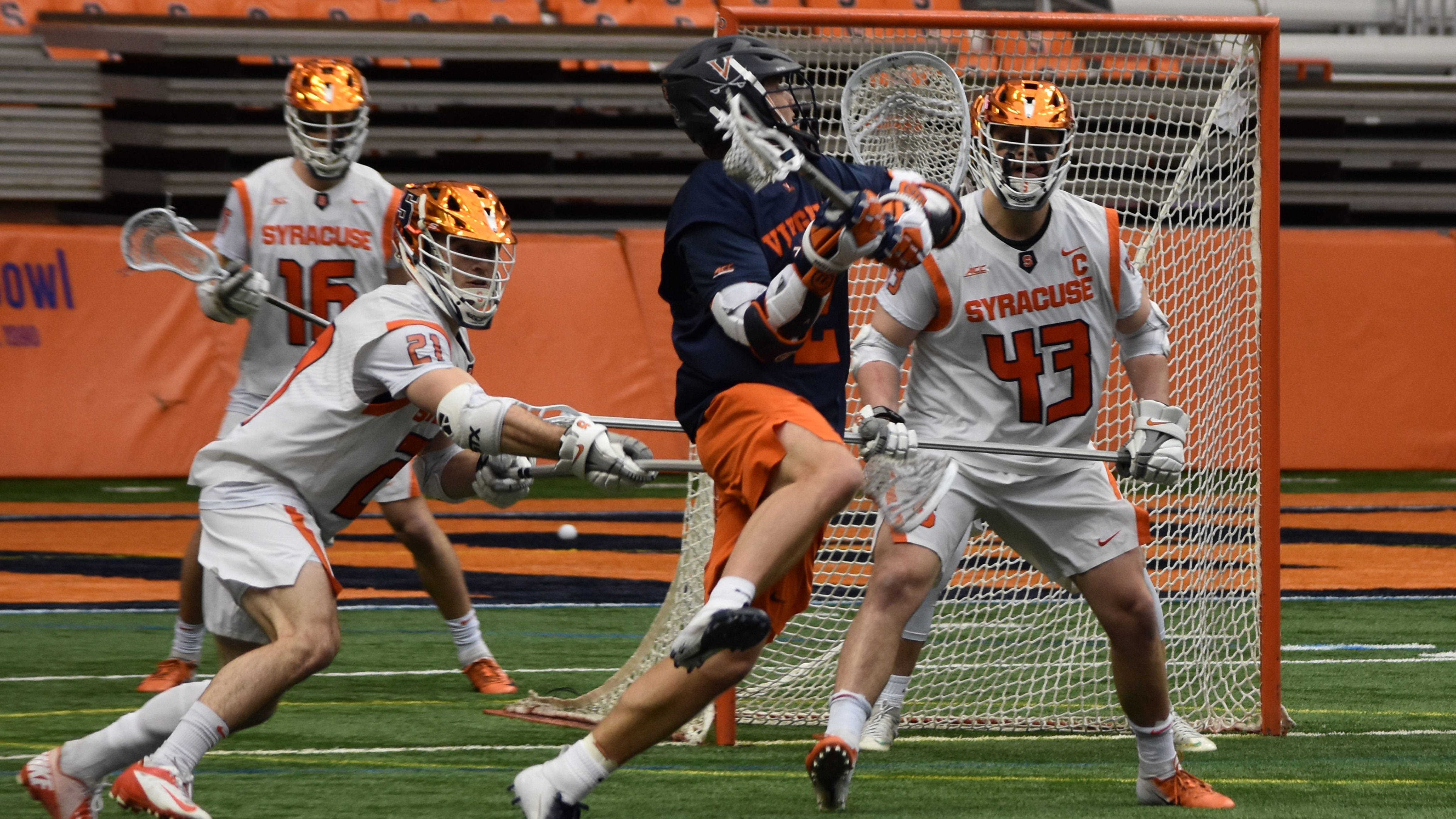 Surge of MLL Rookies Reporting for Duty Michael Kraus UVA Virginia lacrosse
