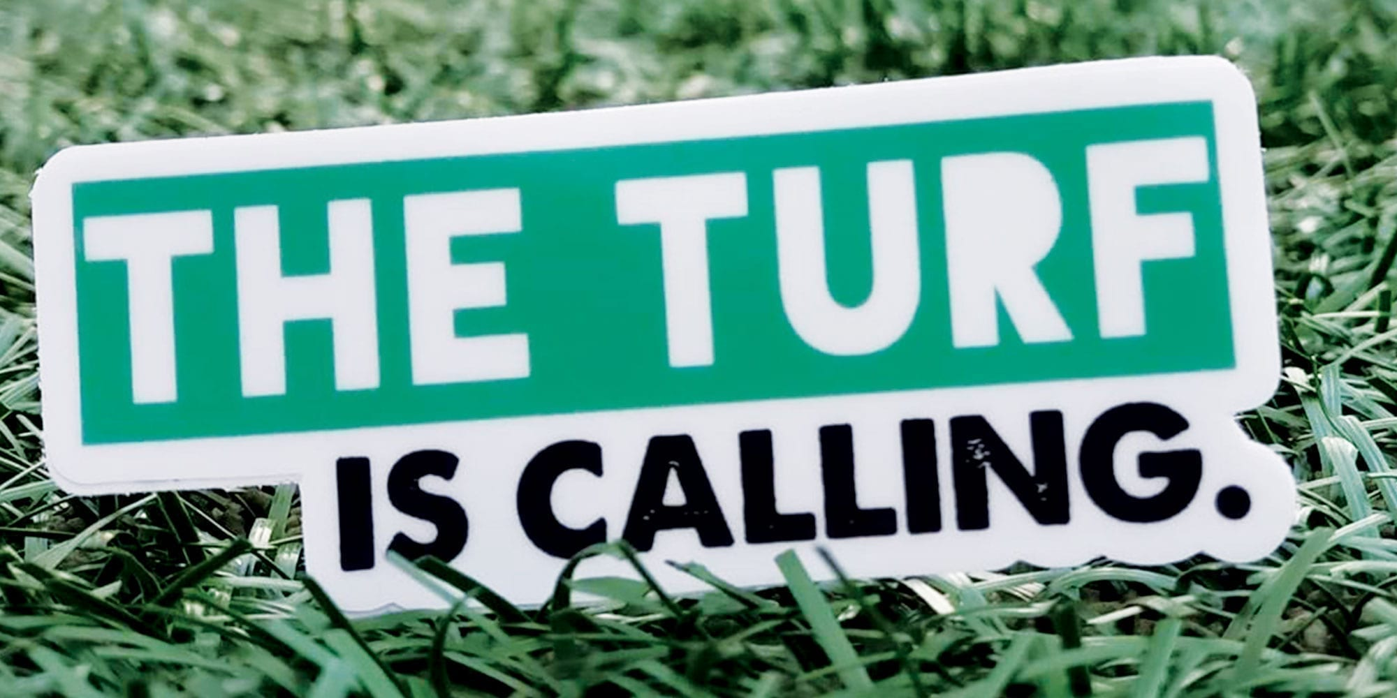 The Turf Is Calling - Benz Family Answers, Over 1,000 Stickers Sent