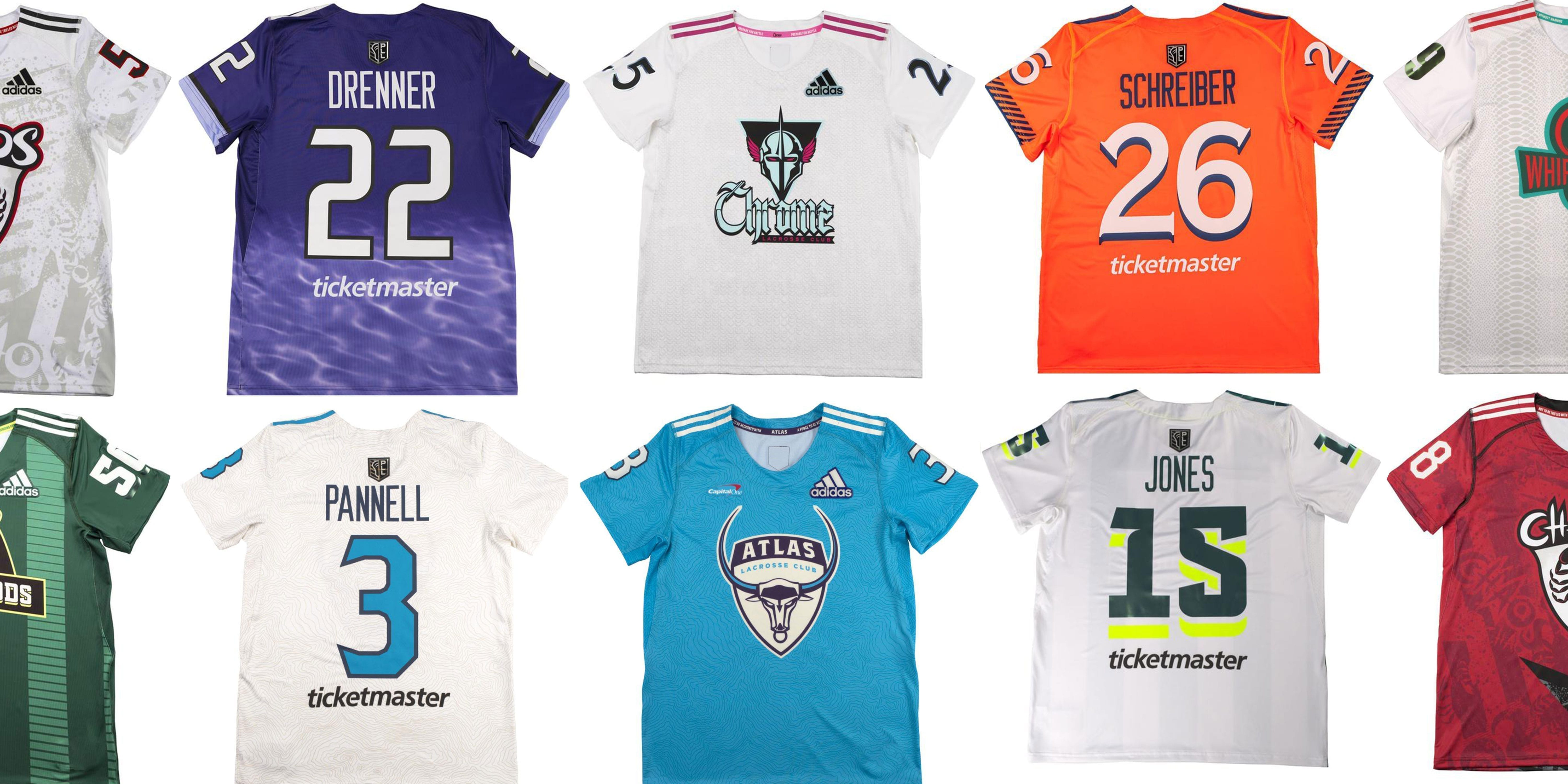 Ranking the 2020 PLL Jerseys - Best to Worst - Lacrosse All Stars