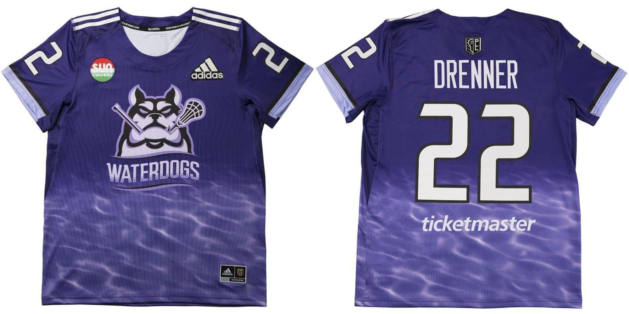 Waterdogs LC PLL 2020 Jersey uniform