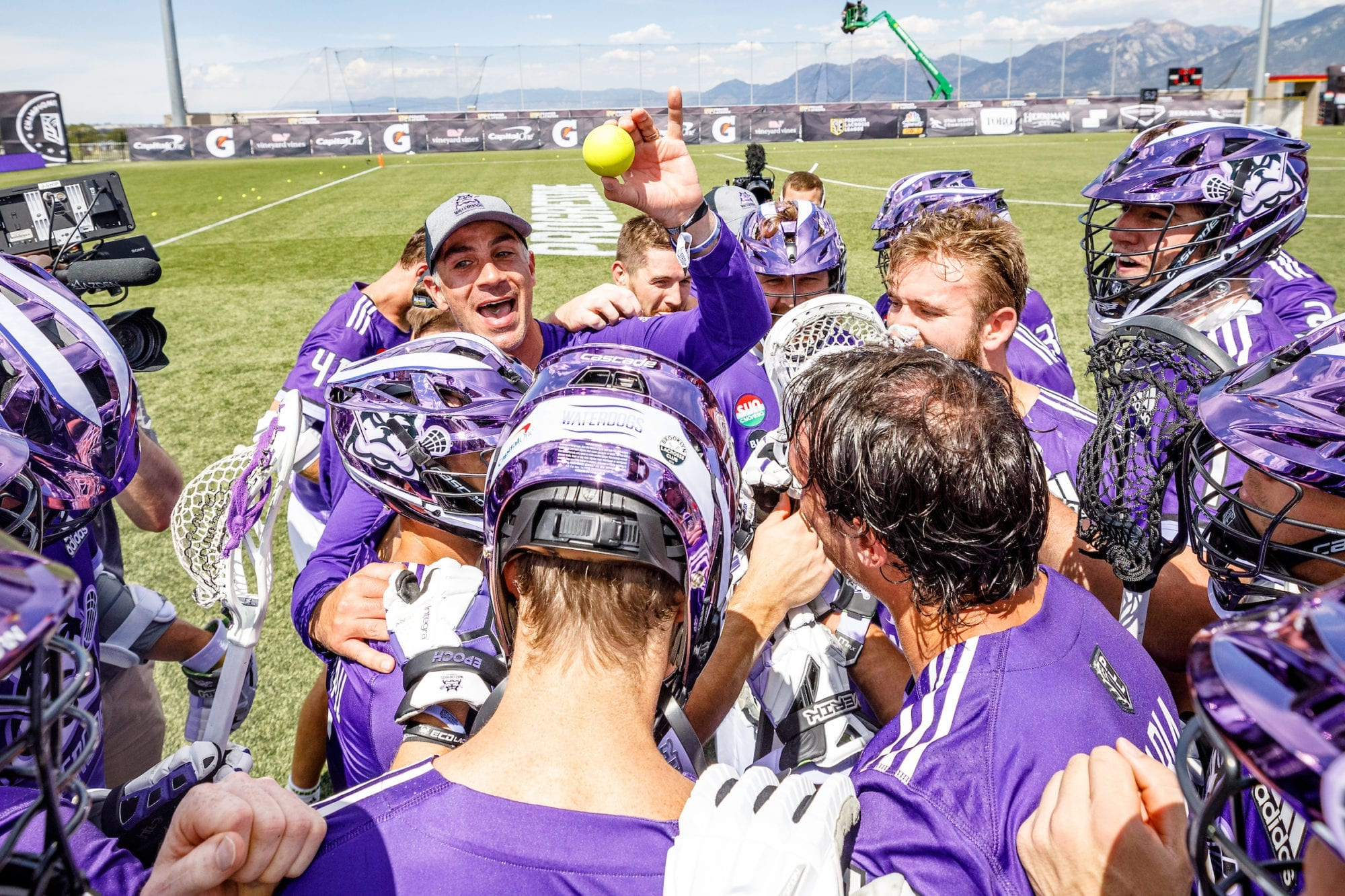 Waterdogs PLL Premier Lacrosse League PLL Championship Series first win