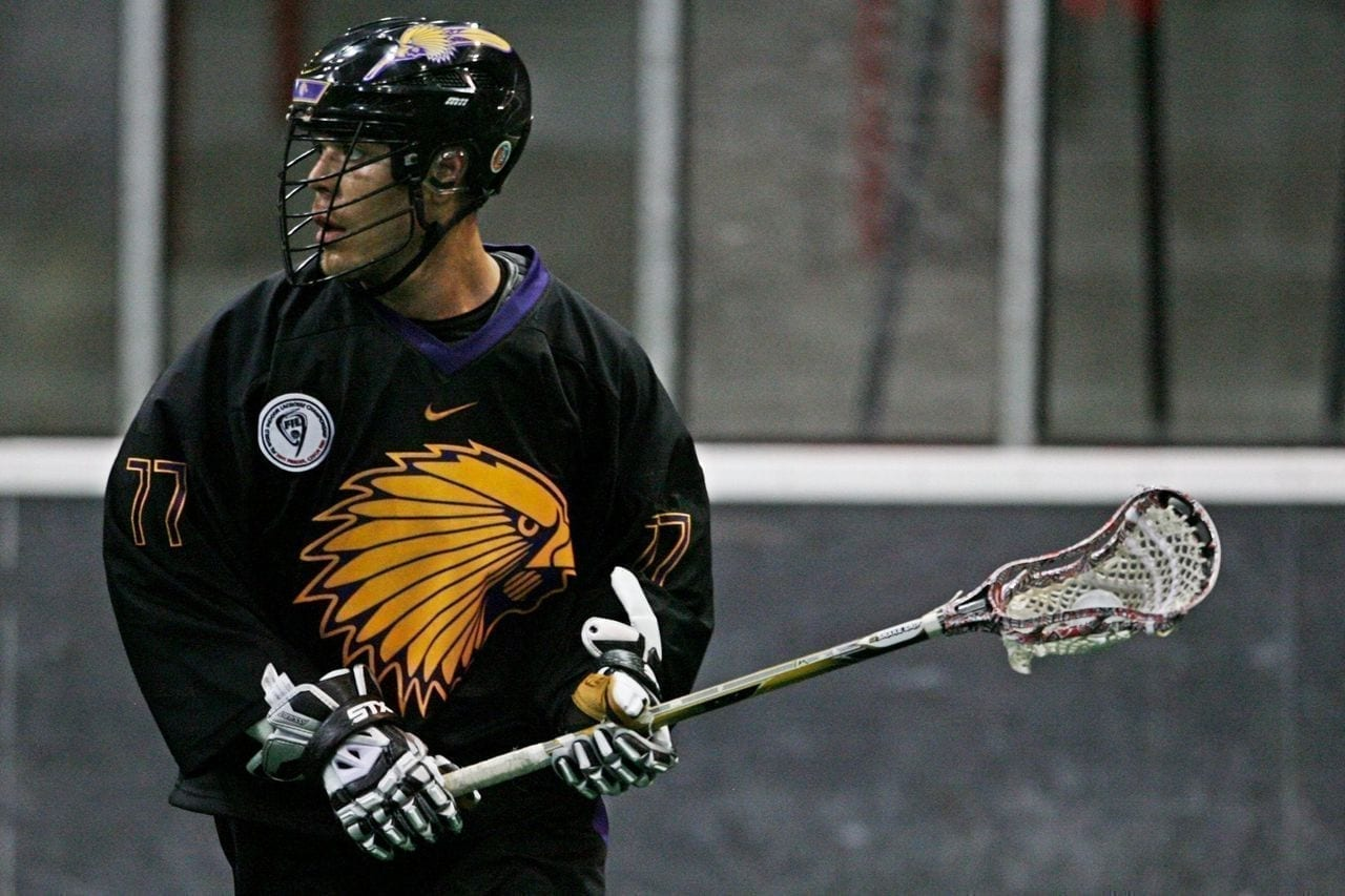 Objibwe-Inuit Jeff Shattler Has Great Pride Wearing Iroquois Nationals Jersey