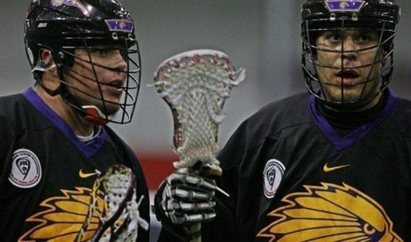 Cody Jamieson (L) & Jeff Shattler (R) Iroquois Nationals WILC