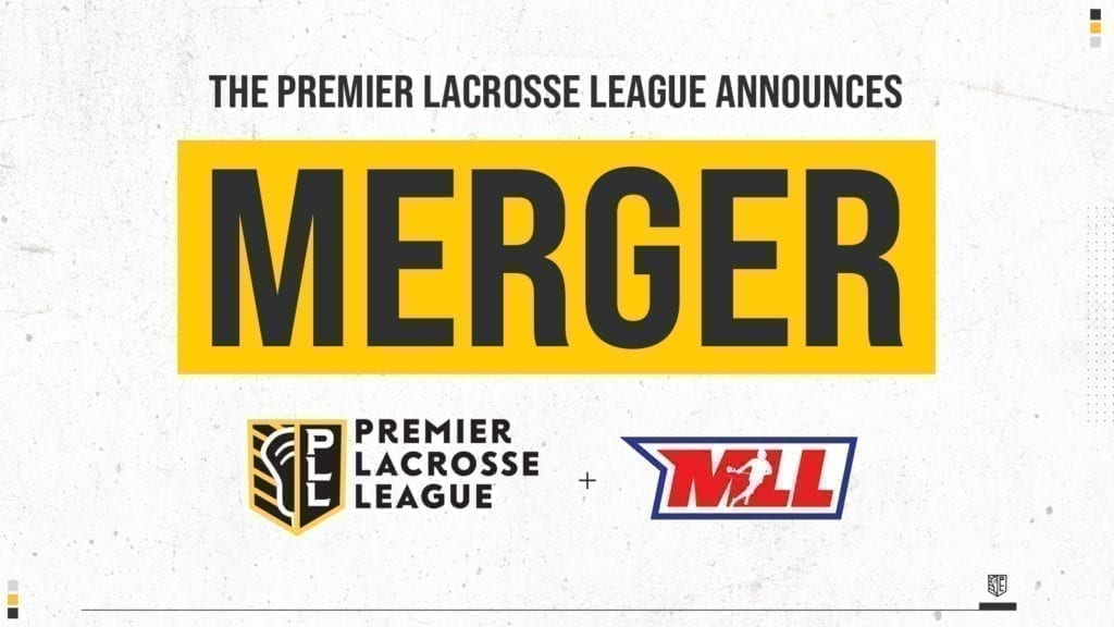 The Premier Lacrosse League and Major League Lacrosse announced their merger Wednesday, conjoining the two pro field lax leagues into one.