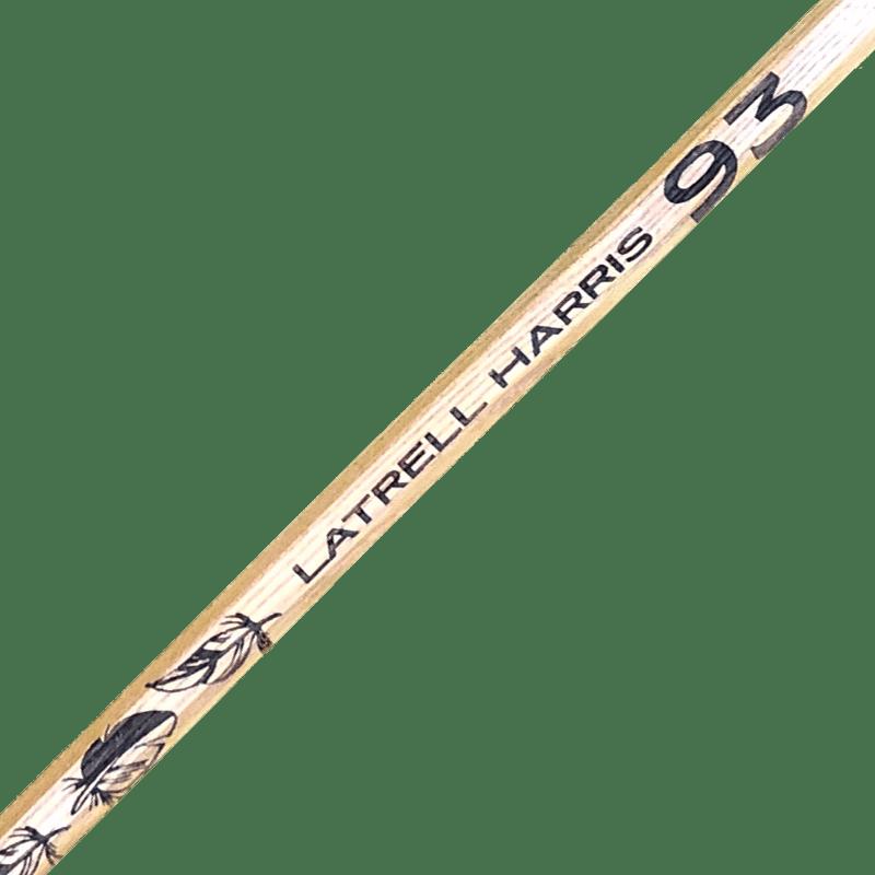 Latrell Harris lacrosse shaft