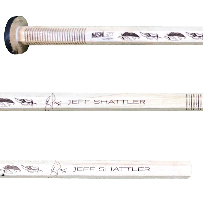 Jeff Shattler lacrosse shaft