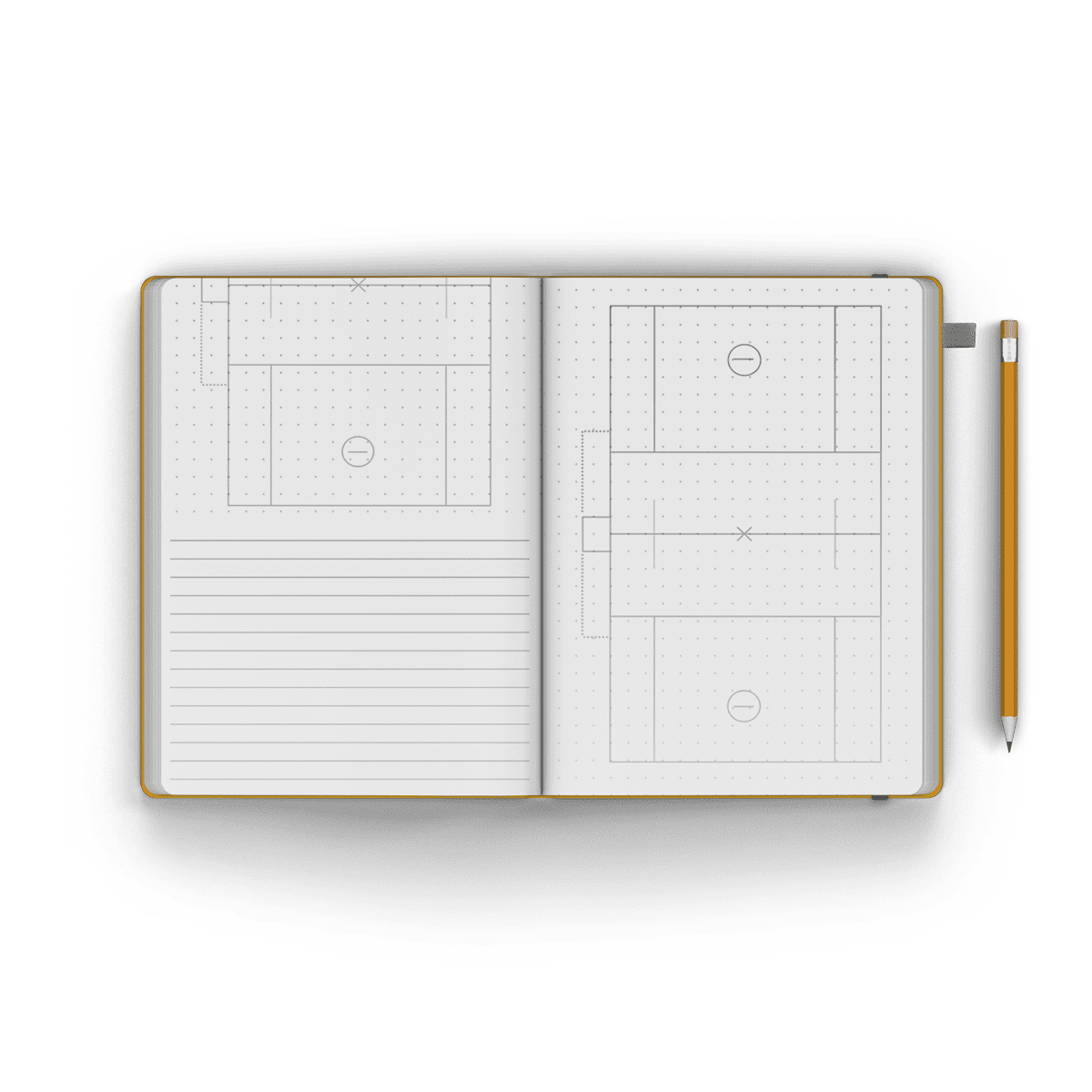 Men's Field Notebook / Journal