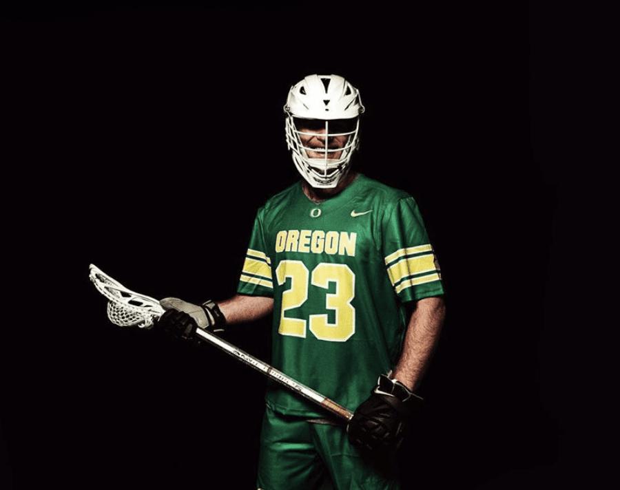 College lacrosse looks jerseys Oregon