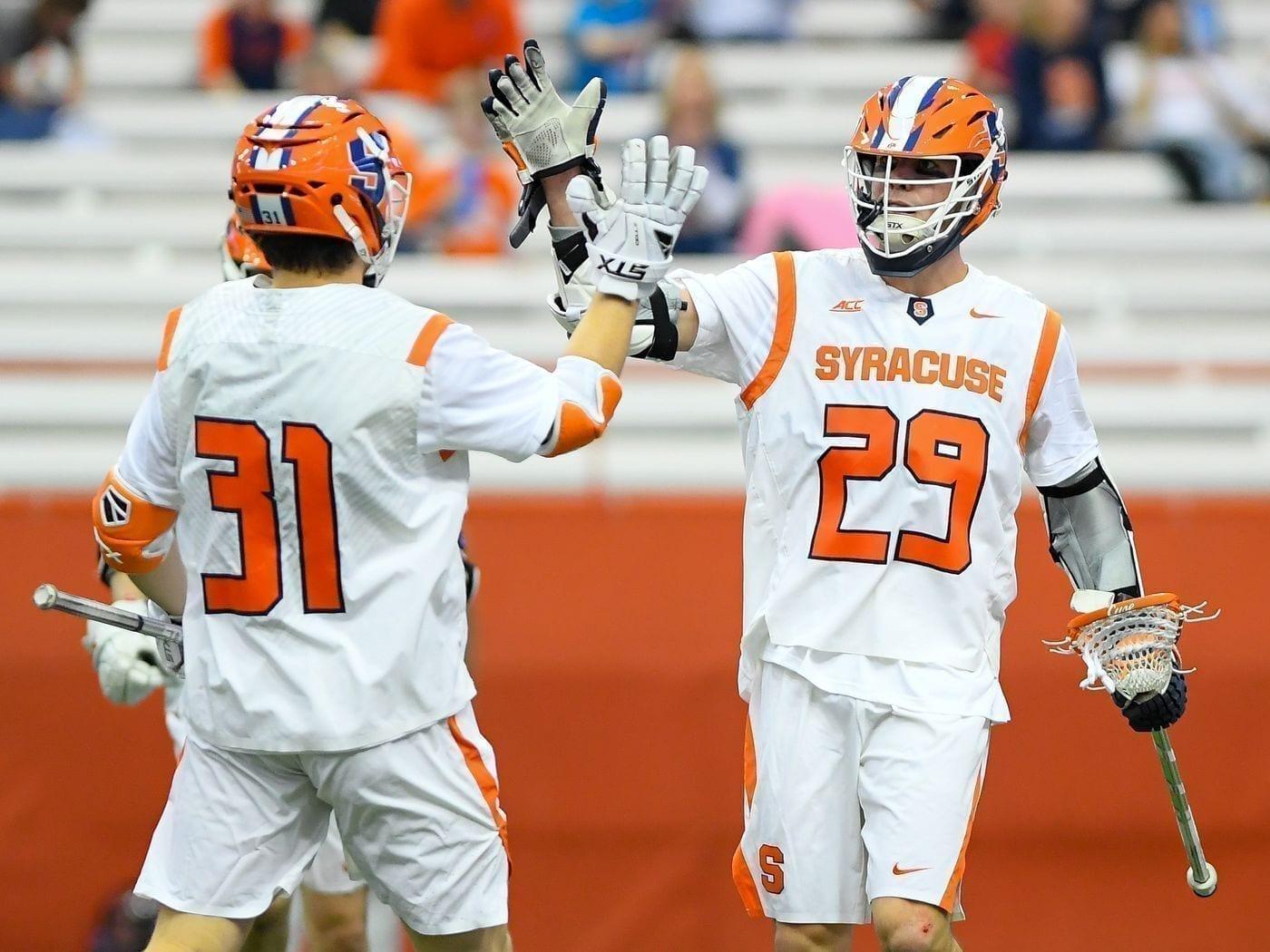 College lacrosse looks jerseys Syracuse