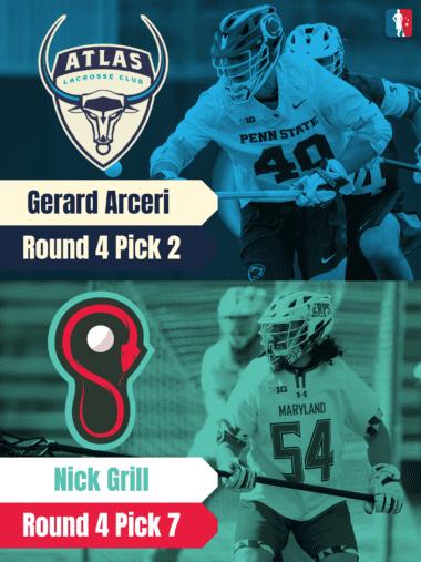 Nick Grill Gerard Arceri PLL Rookie Spotlights