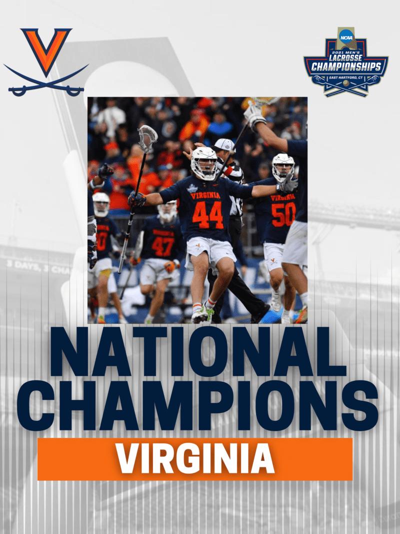 Virginia lacrosse score Maryland national championship 2021