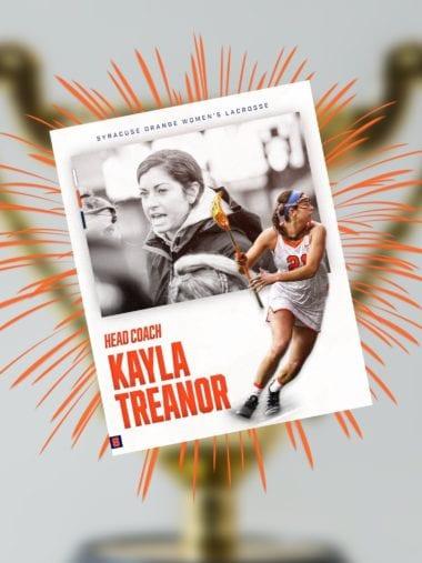 Kayla Treanor takes over the orange