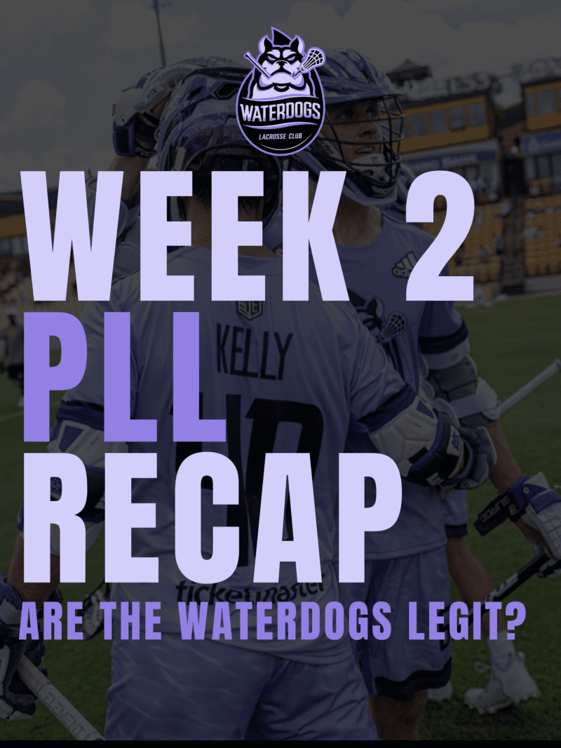 Waterdogs 2021 PLL Week 2