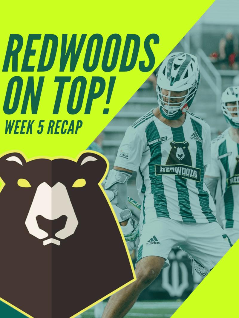 Nick Marrocco Redwoods on top 2021 PLL Week 5 recap
