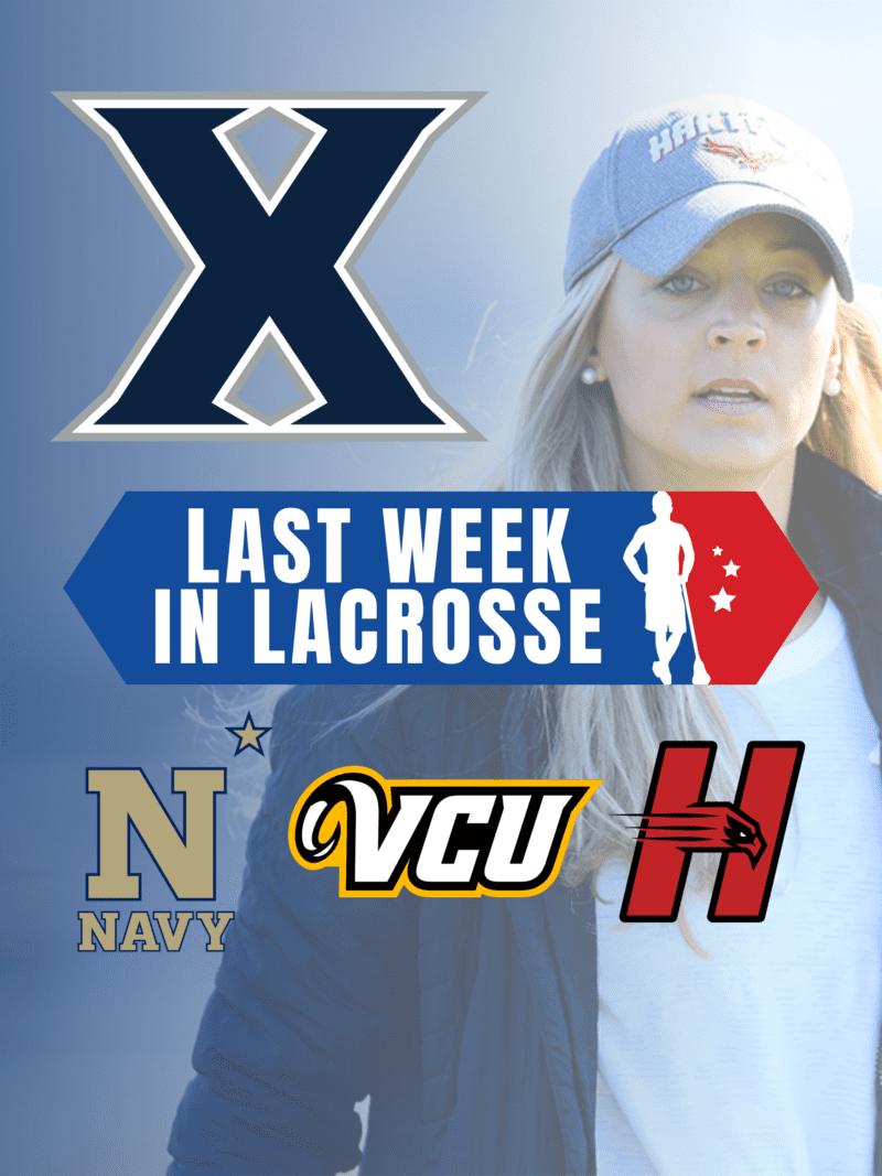 Meg Decker lacrosse Xavier