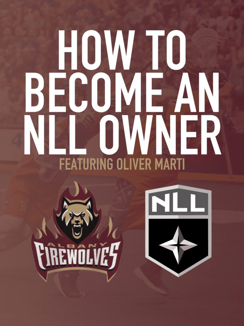 how to own a sports team Oliver Marti