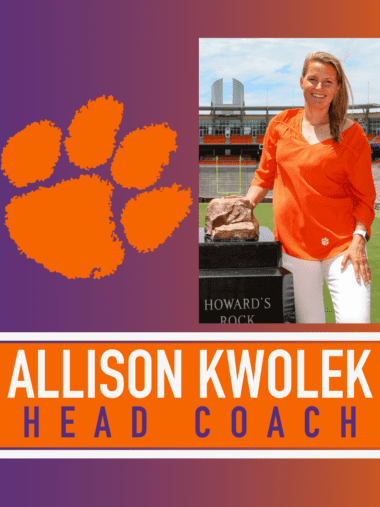Allison Kwolek Clemson lacrosse